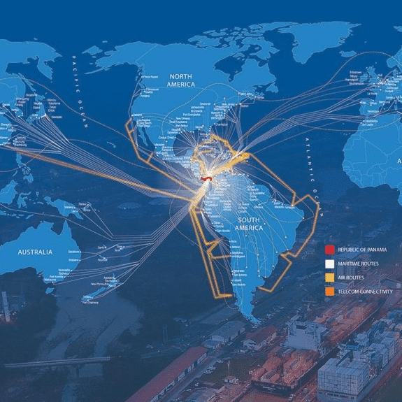 """Panama, """"ONE SIZE FITS ALL"""" for global supply chains"""